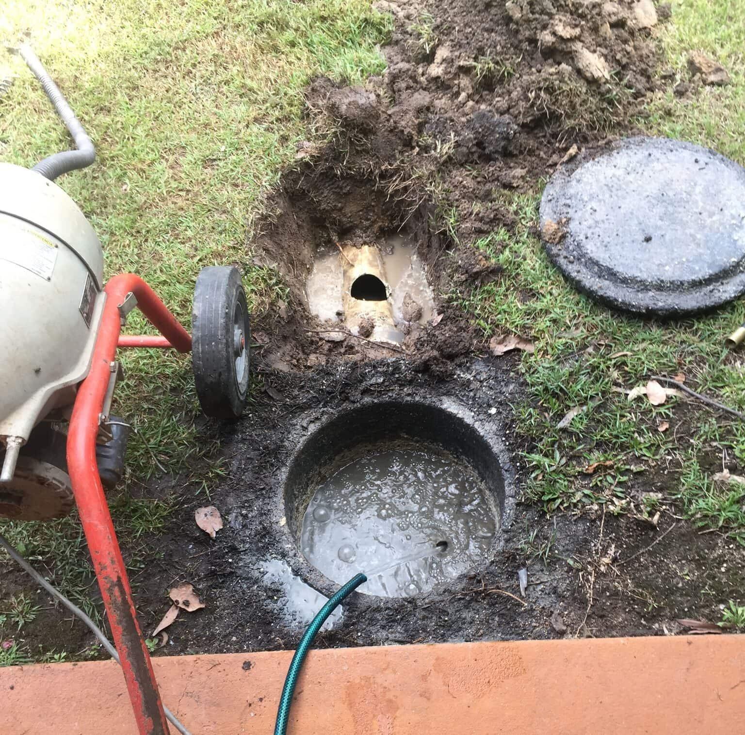 septic tank problem