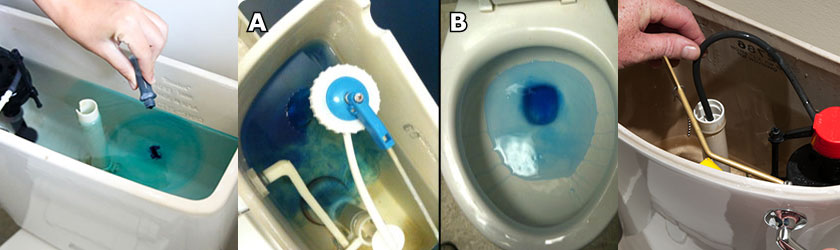 Test And Fix Your Leaky Toilet Tank Ljm Plumbing
