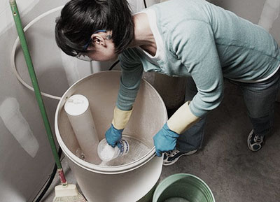 Cleaning Water Softener