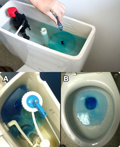 Test And Fix Your Leaky Toilet Tank Ljm Plumbing Gas