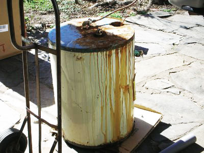 Rusty Water Heater